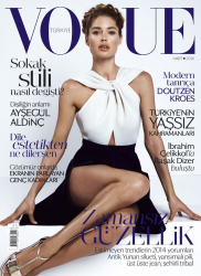 Даутцен Крус для Vogue Turkey, март 2014
