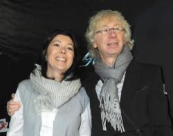 Аркадий Укупник с женой Натальей