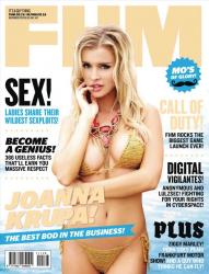 Джоанна Крупа для журнала FHM