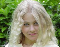 Джулианна Хаф в детстве