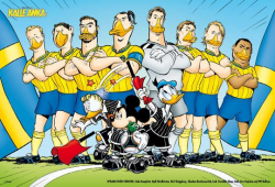 Ибрагимович стал героем комикса про Доналда Дака