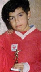 Карлос Тевес в детстве