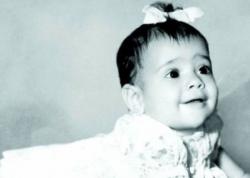 Сальма Хайек в детстве