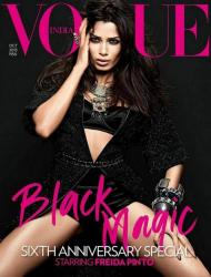 Фрида Пинто для журнала Vogue India, октябрь 2013