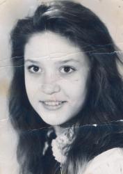 Алена Винницкая в детстве