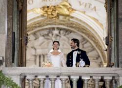 Свадьба принца Карла Филиппа и Софии Хелльквист
