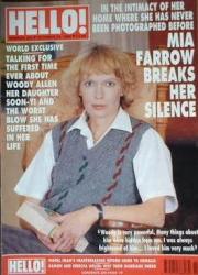 Миа Фэрроу на обложках журналов