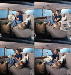 Барбра Стрейзанд в объективе Милтона Грина, 1968 год