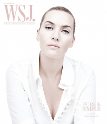 Кейт Уинслет для WSJ, октябрь 2015