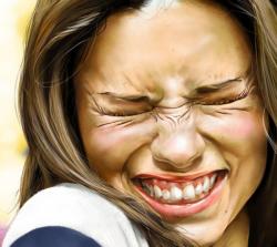 Портреты Адрианы Лимы в жанре цифровой иллюстрации