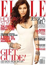 Джессика Бил на обложках журналов