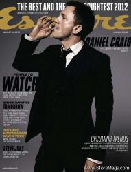 Дэниел Крейг на обложках журналов
