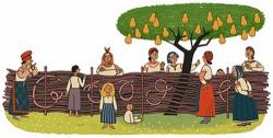 Иван Нечуй-Левицкий на праздничном логотипе Google