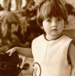 Виктория Боня в детстве и юности