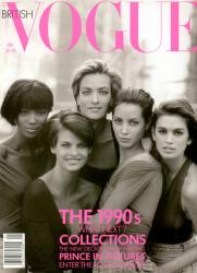 Великая пятёрка супермоделей 90-х, 1990 год