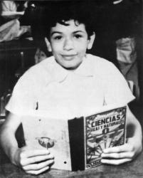 Карлос Сантана в детстве и молодости