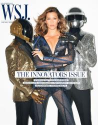 Жизель Бундхен и Daft Punk для журнала WSJ, ноябрь 2013