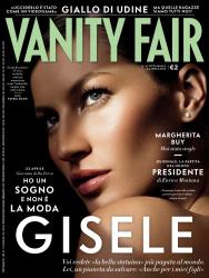 Жизель Бундхен для Vanity Fair Апрель 2013