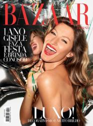 Жизель Бундхен для Harpers Bazaar Brazil