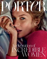 Жизель Бундхен для Porter Magazine, февраль 2014