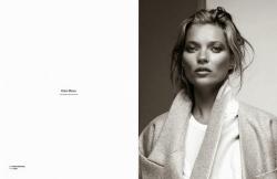 Кейт Мосс для Zoo Magazine, осень 2013