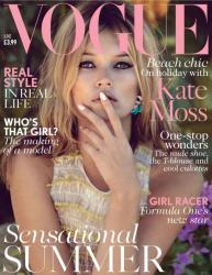 Кейт Мосс для июньского VOGUE UK (2013)