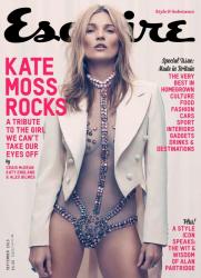 Кейт Мосс для журнала ESQURE UK, сентябрь 2013