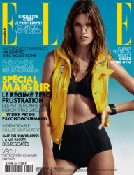 Alessandra Ambrosio для Elle France