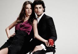 Алессандра Амбросио и Хесус Луц в рекламе Chenson