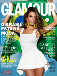 Алессандра Амброзио на обложках журналов