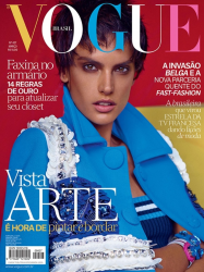 Алессандра Амброзио в фотосессии Мариано Виванцо для Vogue Brazil, март 2014