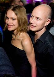 Джастин Портман и Наталья Водянова