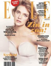 Наталья Водянова для Elle Belgium