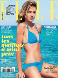 Наталья Водянова в июньском выпуске Elle France