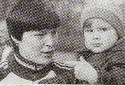 Динара Сафина в детстве