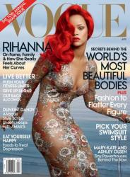 Риана в журнале Vogue