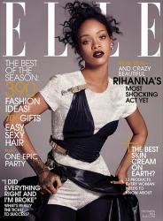 Рианна для Elle US, декабрь 2014