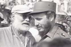 Эрнест Хемингуэй и Фидель Кастро, 1959 год