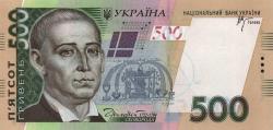 Портрет Григория Сковороды на украинских деньгах