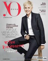 Эллен Дедженерес на обложках журналов