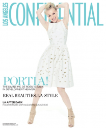 Портия Де Росси для майского выпуска Los Angeles Confidential