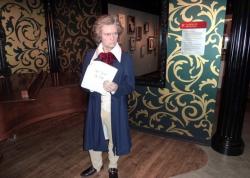 Людвиг ван Бетховен в музее мадам Тюссо в Берлине