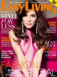 Анна Фрил на обложках журналов