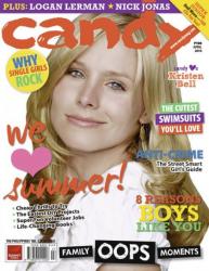 Кристен Белл на обложках журналов