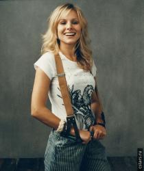 Кристен Белл в фотосессии Нормана Джина Ройя