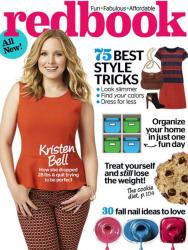 Кристен Белл для Redbook Magazine, сентябрь 2013