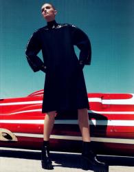 Лили Дональдсон для летнего Harper's Bazaar USA (Июнь\Июль 2013)
