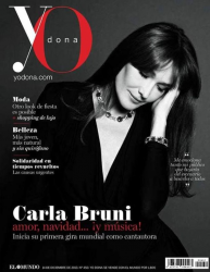Карла Бруни на обложках журналов