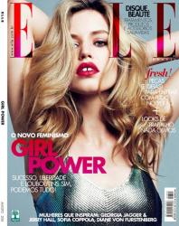 Джорджия Мэй Джаггер и Джерри Холл для Elle Brasil 2013