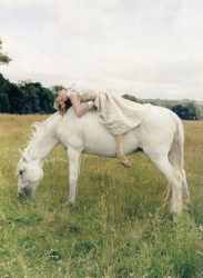 Джорджия Мэй Джаггер для Vogue UK, октябрь 2013